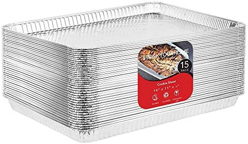Stock Your Home Aluminum Pans Cookie She