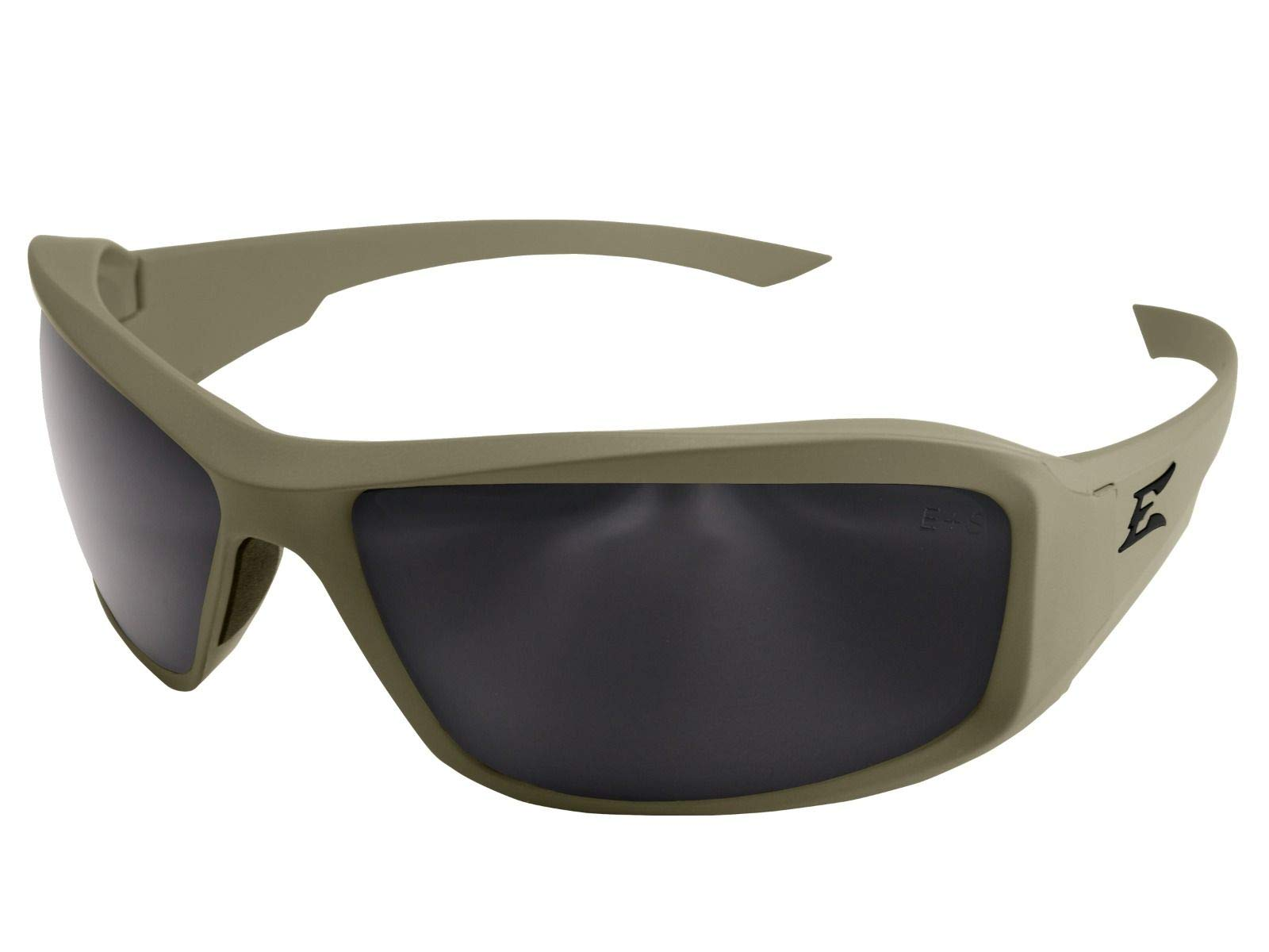 Edge Eyewear XH65-G15-TT Hamel Ranger Green Thin Temple - Soft-Touch Gray Frame/G-15 Vapor Shield Lenses by Edge Eyewear