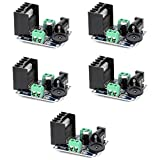 Optimus Electric 5pcs TDA7297 15W Each Dual Channel Audio Power Amplifier Module 6V to 18V for Sound Amplifying Speakers from