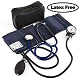 Best Blood Pressure Cuff And Stethoscope Kits - LotFancy Manual Blood Pressure Cuff, Aneroid Sphygmomanometer Review