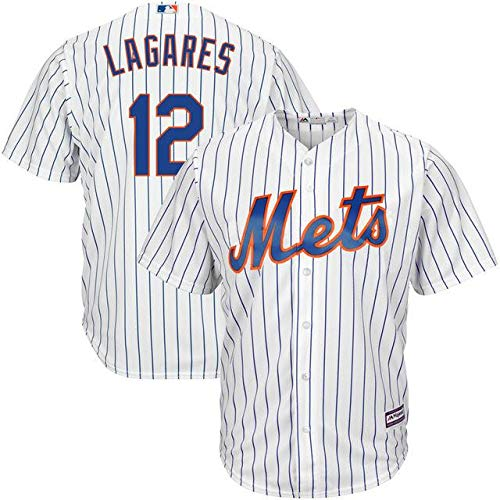 Majestic Majestic York Juan Lagares New Official York New Mets White Official Cool Base Player Jersey スポーツ用品【並行輸入品】 XL B07GNSC7WJ, 通販家族:d2ed761d --- cgt-tbc.fr