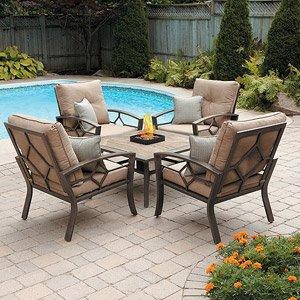 Brilliant Amazon Com Patio Furniture Outdoor Lawn Garden Kennedy 5 Home Interior And Landscaping Ferensignezvosmurscom