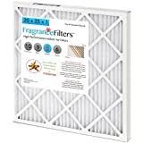 FragranceFilters Indoor Air Filters, MERV 8, Box of 4, Cinnamon Spice (16x25x1)
