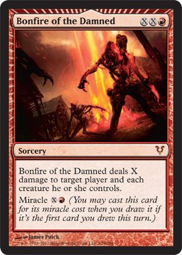 Magic: the Gathering - Bonfire of the Damned (129) - Avacyn Restored - Foil