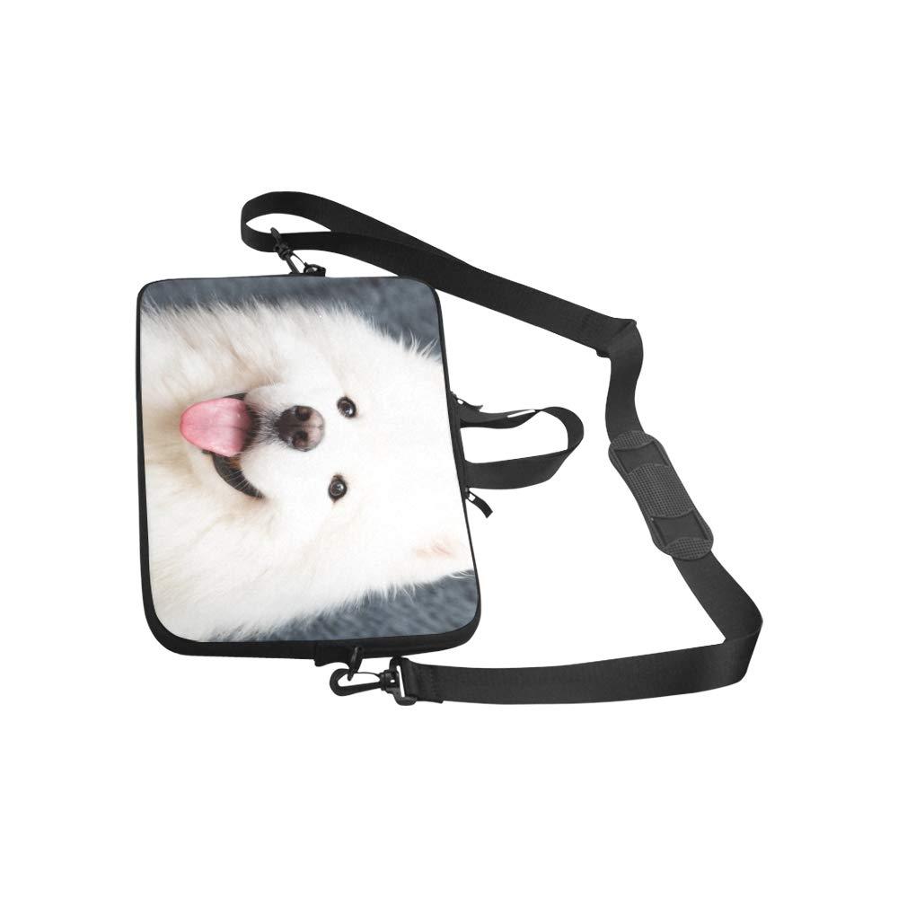 Samoyed Dog Home Mallette Sac Dordinateur Portable Messenger /Épaule Sac De Travail Sac /À Main Crossbody pour Les Voyages daffaires