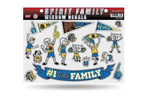 NCAA UCLA Bruins Spirit Family Window Decals