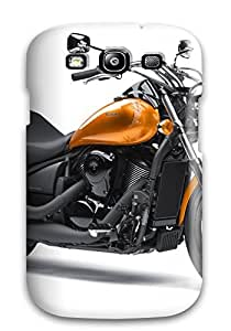 Tpu Fashionable Design Kawasaki Motorcycle Rugged Case Cover For Galaxy S3 New