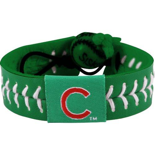 GameWear Chicago Cubs St. Patrick's Day Baseball Bracelet