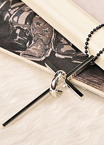 Generic The new Korean sweet temperament sweater chain in Europe and America exaggerated cross pendant necklace Beautiful long section of decorative pendant
