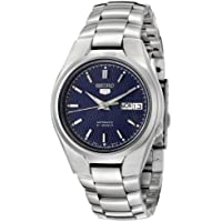 Seiko Men's 5' Japanese Automatic Stainless Steel Casual Watch, Color:Silver-Toned (Model: SNK603)