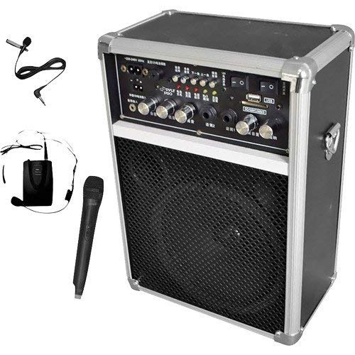 (Pyle PWMA170 DUAL CHANNEL 400W WL PA SYST with USB/SD/MP3 6IN FULL RANGE SPKR)
