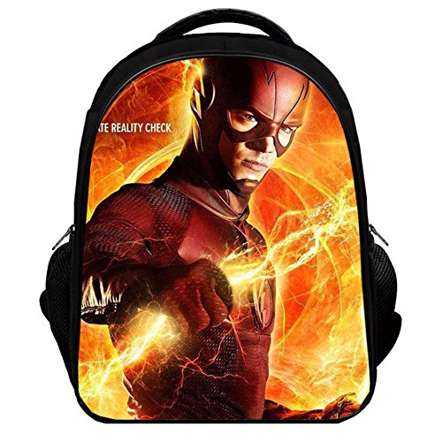 YOURNELO Boy's Color Printed The Flash Rucksack School Backpack Bookbag (Color 1, L) Review