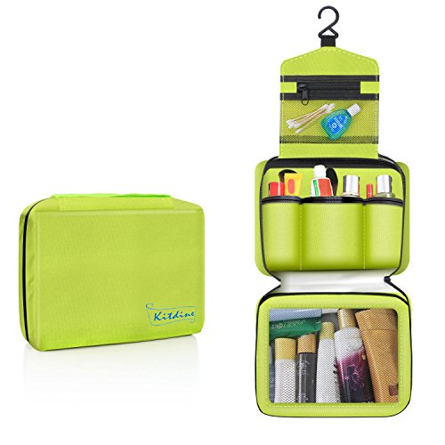 Travel Toiletry Bag Organizer (Green) Only $4.99