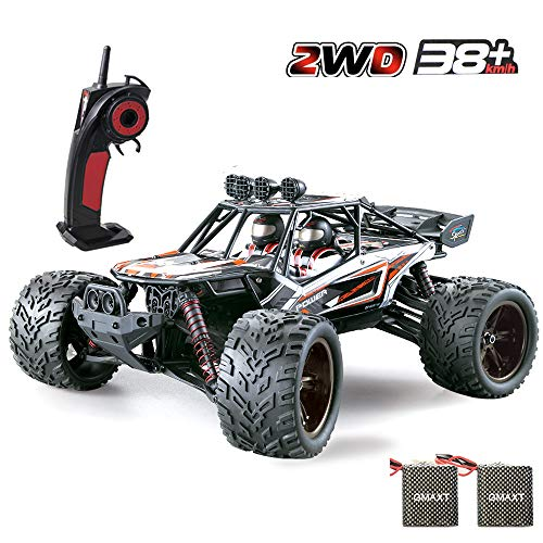 (GMAXT Rc Cars 9120 Remote Control Car,1/12 Scale,2.4Ghz 2WD High Speed Off-Road Vehicles with 2 Batteries, Give The Child The Best Gift)