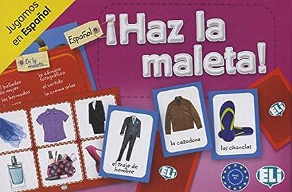 Amazon.com: ELI Language Games: Haz la maleta!: Olivier Joy ...