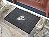 FANMATS - 13409 - FanMats Marines Medallion Door Mat