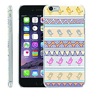 [ManiaGear] [SLIGHT] Thin Clip On Image Shell Cover Hard Case (Tribal Birds) for Iphone 6 PLUS (5.5)