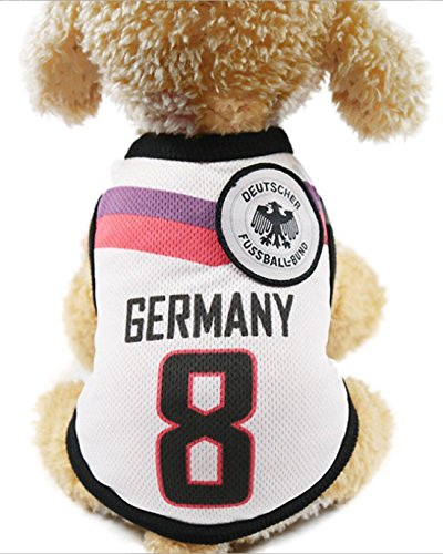 GabeFish Dog World Cup T Shirt Pets Football Jersey Sports Soccer National Team Vest Cat Summer Cool Clothes Apparel
