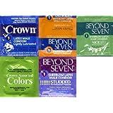 Okamoto Condom Variety Pack + Free Lubricant - 36 Pack