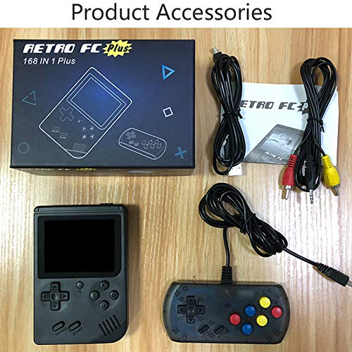 Hangyuan Retro Handheld Classic Game Console F-C System Plus Extra Joystick Video Game Consoles Built-in 168 Classic Games by Hangyuan (Image #7)
