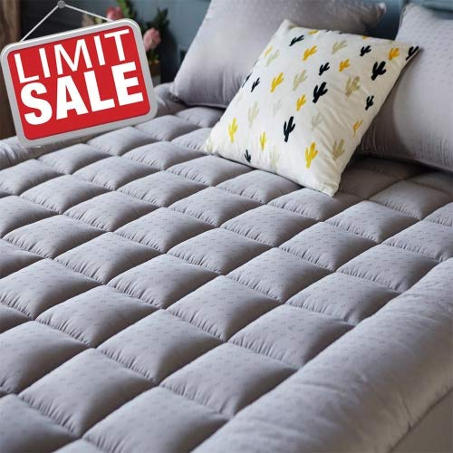 Learn More About Mattress Pad Cover (Queen Size)- Cooling Mattress Topper with Thick Cotton 8-21-Inc...