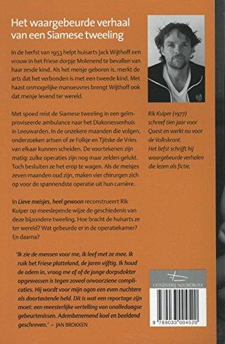 Lieve Meisjes Heel Gewoon Dutch Edition Kuiper Rik 9789033004520 Amazon Com Books