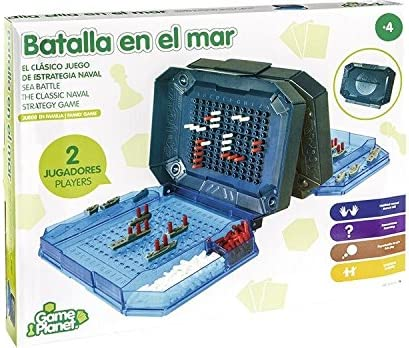 JUEGO BATALLA EN EL MAR: Amazon.es: Juguetes y juegos