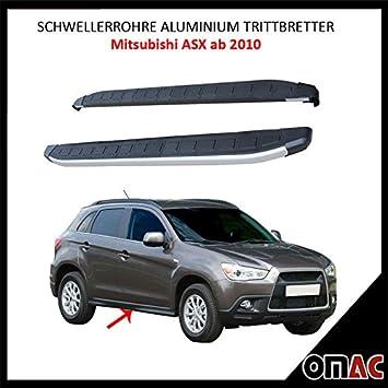 Potenciador tubos aluminio pedalada Tablas para Mitsubishi ASX a partir de 2010 dolunay (183): Amazon.es: Coche y moto