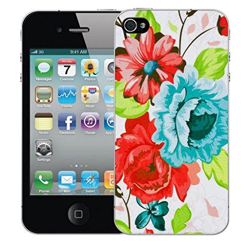 Mobile Case Mate iphone 5 5s clip on Dur Coque couverture case cover Pare-chocs - blue pompon Motif