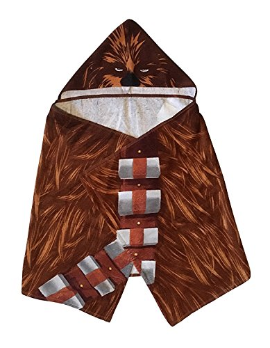 Chewbacca Hooded Towel Star Wars Bath Towel]()