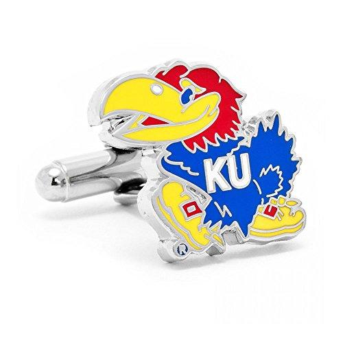 Kansas Jayhawks Cufflinks (University of Kansas Jayhawks Cufflinks)