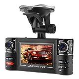 "XCSOURCE 5MP Dual Lens 2.7"" TFT Screen Dash Cam, 120¡ã Wide Angle 8 IR LED Night Vision Car Security DVR Digital Video Recorder MA826"