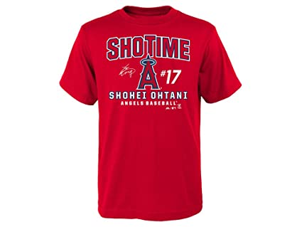 finest selection 8758c 5e581 Outerstuff Shohei Ohtani Los Angeles Angels Youth Showtime Takedown T-Shirt