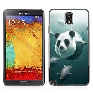 YOYOSHOP [Funny Panda Tuna Illustration] Samsung Galaxy Note 3 Case
