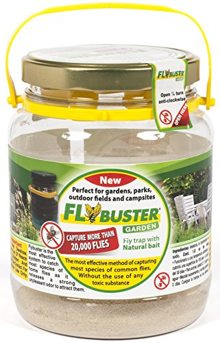 Fly Buster, Home and Outdoor Living non-Toxic Fly Trap, Pest Control Traps -  METHOD SOURCING CORP