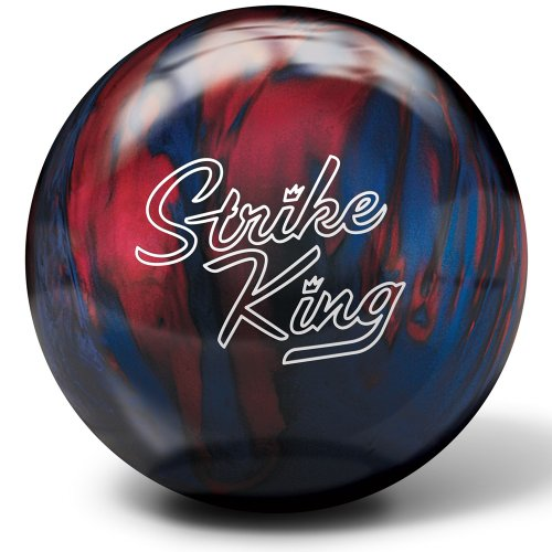 Brunswick Strike King Bowling Ball- Blue/Red Pearl (11lbs) (Strike Brunswick)