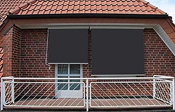 Store Vertikal Kabeltrommel Aussen Fur Terrasse Oder Balkon Weiss