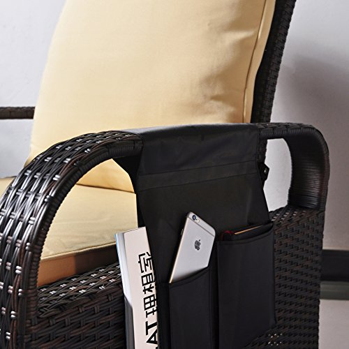 TV Remote Control Organizer Holder, Drapes Over Recliner ...