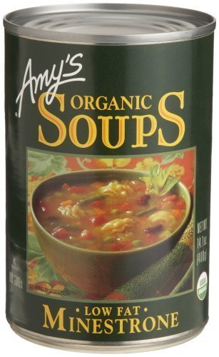 - Amy's Organic Soup Minestrone, 14.1 Ounce (pack Of 12)