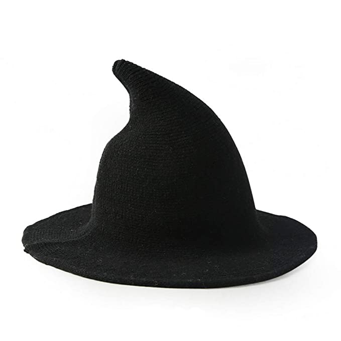 e3cb9a3b55a Amazon.com  Cayder Womens Witch Hat Knitted Wool Cap