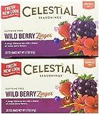 Cheap Celestial Seasonings Wild Berry Zinger Tea Bags, 20 ct, 2 pk