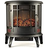 "Moda Flame MFSD8050 Richmond 22"" Curved Electric Fireplace Stove -"