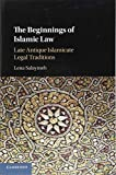 The Beginnings of Islamic Law: Late Antique