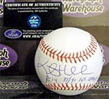 Kent Hrbek autographed baseball inscribed 87 91 WS Champs (Minnesota Twins OMLB) AW Certificate of Authenticity Hologram