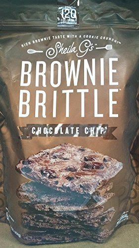 Sheila G's Brownie Brittle Chocolate Chip 16 oz (2 pack) by Sheila G's