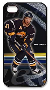 THYde Buffalo Sabres,Brian Campbell Customizable iphone 4/4s Case by icasepersonalized ending
