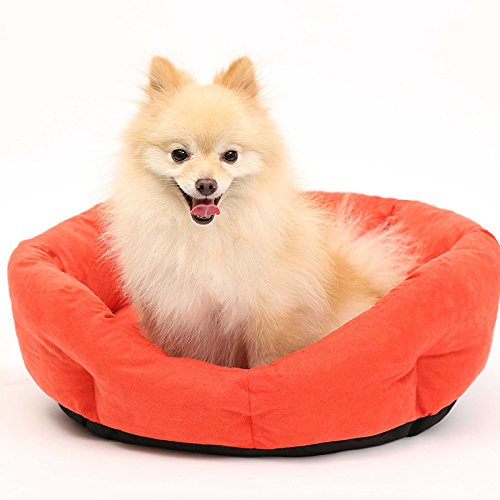 Red Round cat pet Kennel pet mat Jiao Wo, Wo new fashion 656518CM,Red
