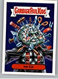 2018 Topps Garbage Pail Kids Oh The Horror-ible 80s Horror Stickers A #1A PIN ED Peelable Collectible Trading Sticker Card