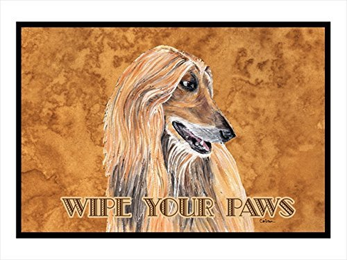 "Caroline's Treasures Afghan Hound Indoor or Outdoor Mat, 18"" x 27"", Multicolor"