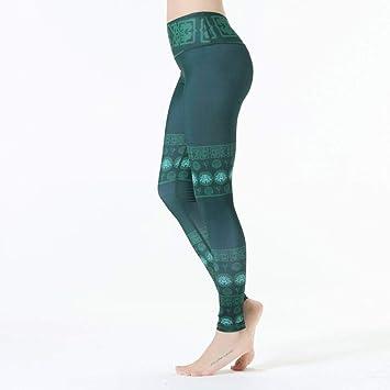 WZXY Pantalones de Yoga Mujeres Mandala Yoga Leggings ...